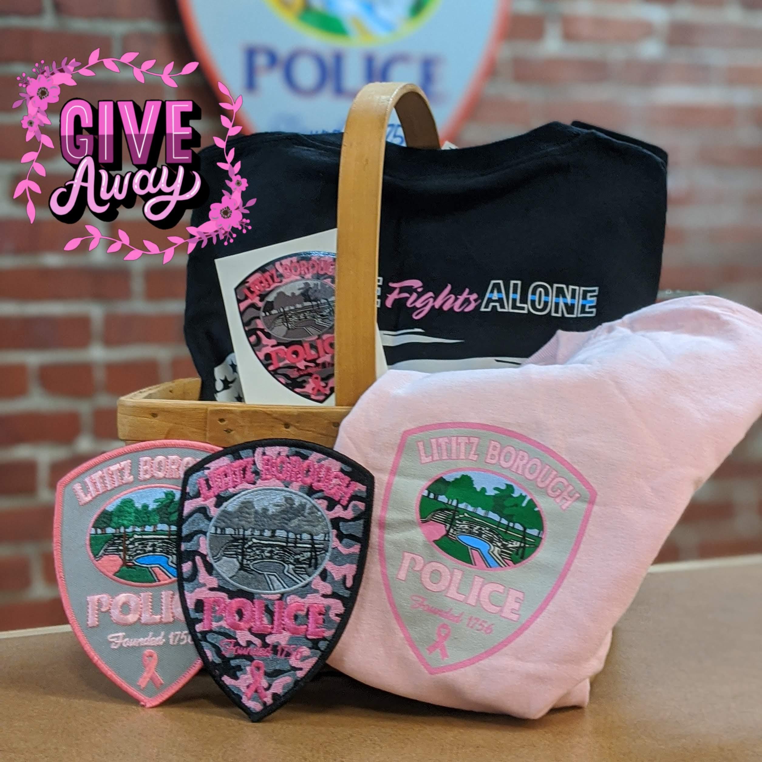 LBPD Pink Patch
