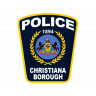 Christiana Borough Police Department Badge