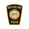 New Holland Police Department Badge