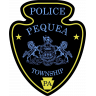 Pequea Township Police Department Badge