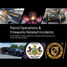 NLCRPD Patrol Operations & Fireworks