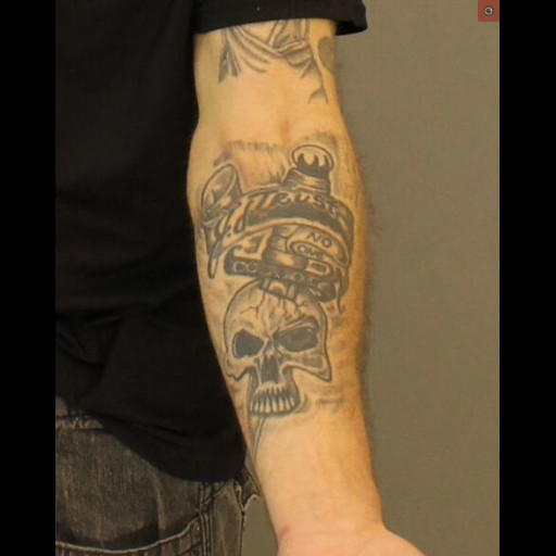 Jose Felix left forearm tattoo