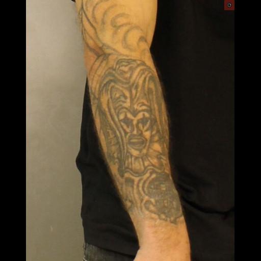 Jose Felix right forearm tattoo