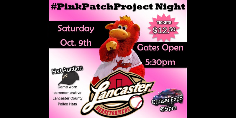 Image for Save the Date - #PinkPatchNight at the Lancaster Barnstormers