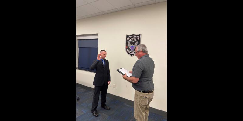Image for Meet Officer Dereck Weinoldt
