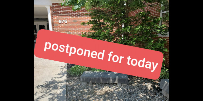 Image for Where In The Township Is Chief Rudzinski Has Been Postponed :(