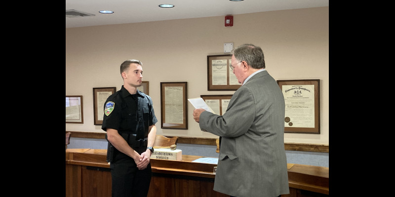 Image for Team EPD Welcomes a New Officer!