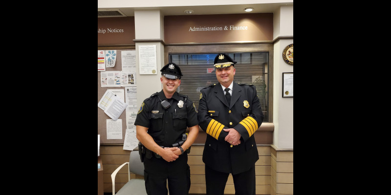 Image for Officer Bolan Sworn In at Commissioners' Meeting