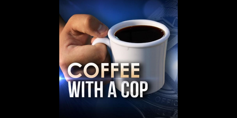 Image for JOIN MTPD FOR COFFEE WITH A COP! - JULY 24, 2019