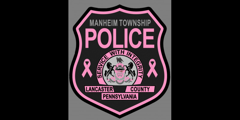 Image for MTPD Selling Pink Patches to Support Breast Cancer Research!  Get Yours Today!