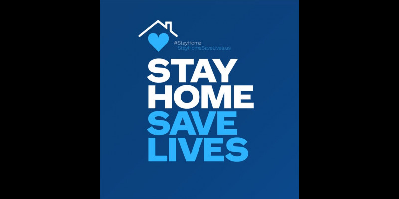 Image for Stay Home!  Save Lives!